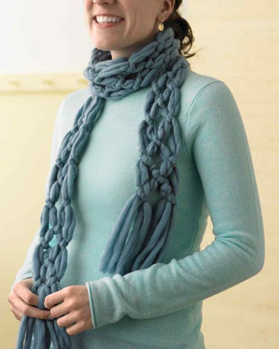 stunning no knit diy scarf ideas