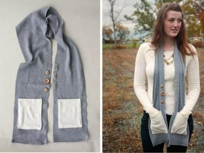 Stunning No-Knit DIY Scarf Ideas