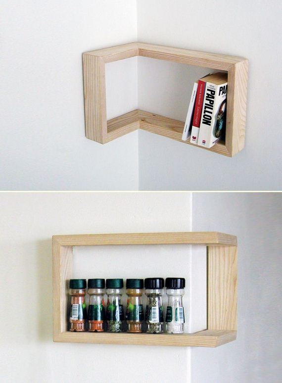 Diy floating shelves Cool wood shelf ideas