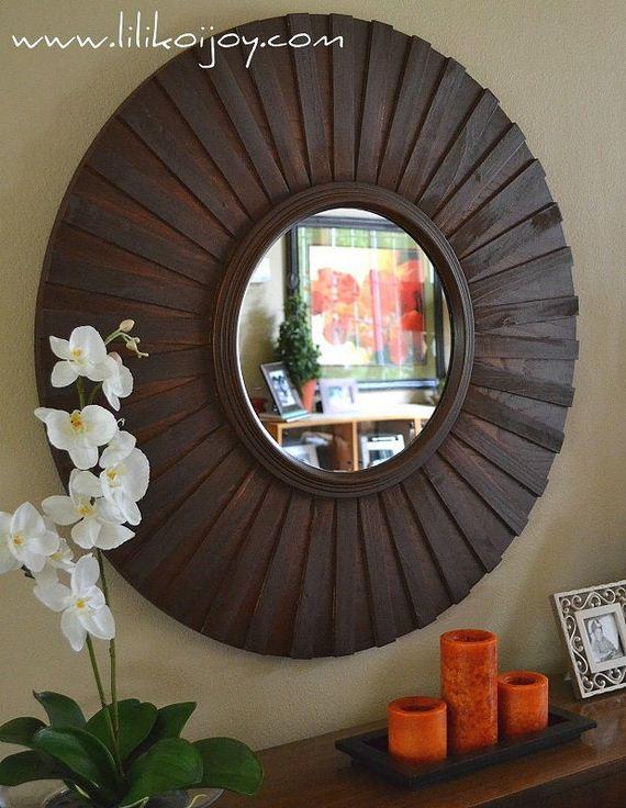 Amazing wood shim diy tutorials for Wooden mirror frames for crafts