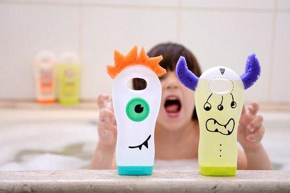Original Ways to Reuse Empty Shampoo Bottles