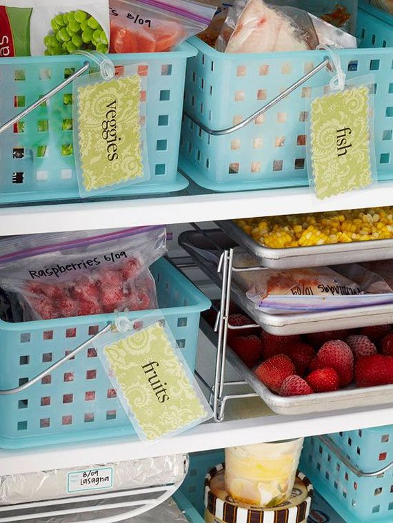 Awesome Hacks To Keep Your Fridge Organized