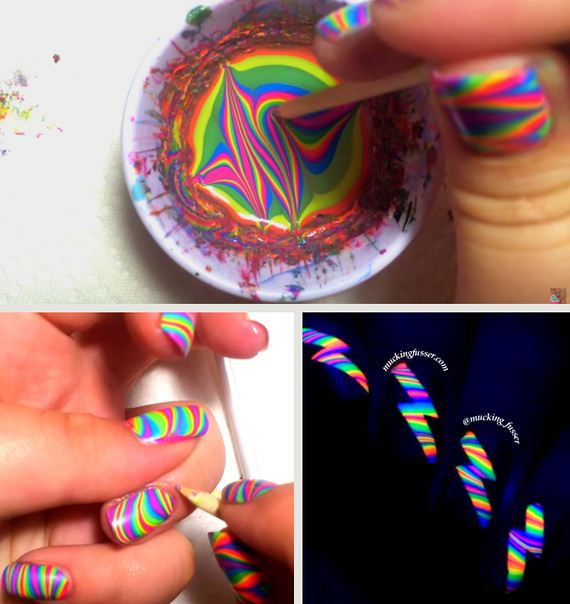 16-Water-Marble-Nails-With-Elmers-Glue