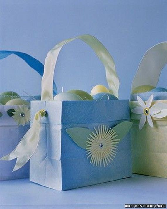 how to make a construction paper easter basket