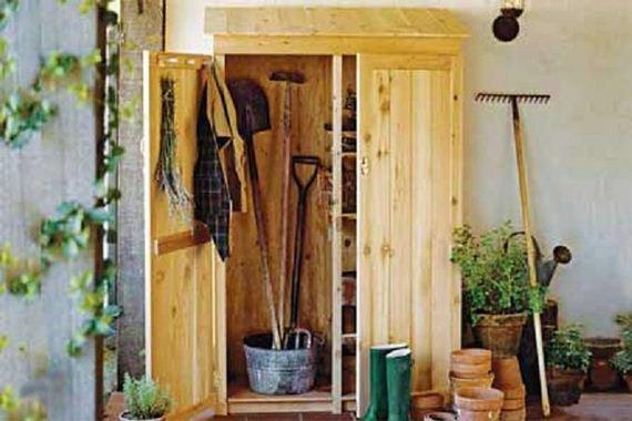 Садовый шкаф для инвентаря