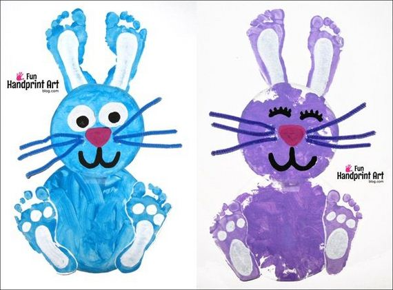 24 Diy Easy Easter Crafts For Kids