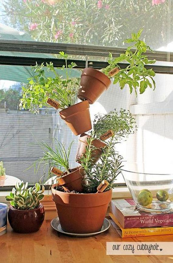 Diy indoor herb garden ideas