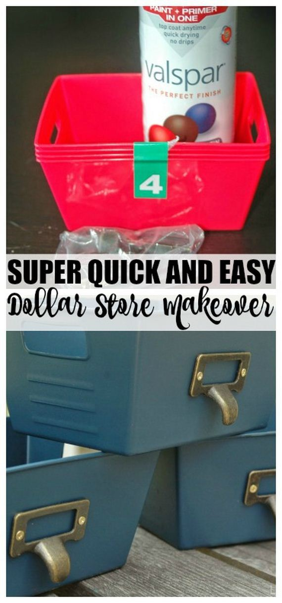 Awesome Dollar Store Organizing Ideas