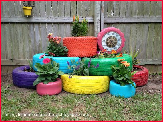 Great Ideas to Reuse and Recycle Old Tires