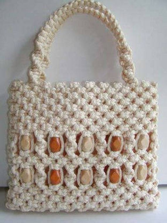 how to make simple macrame bag