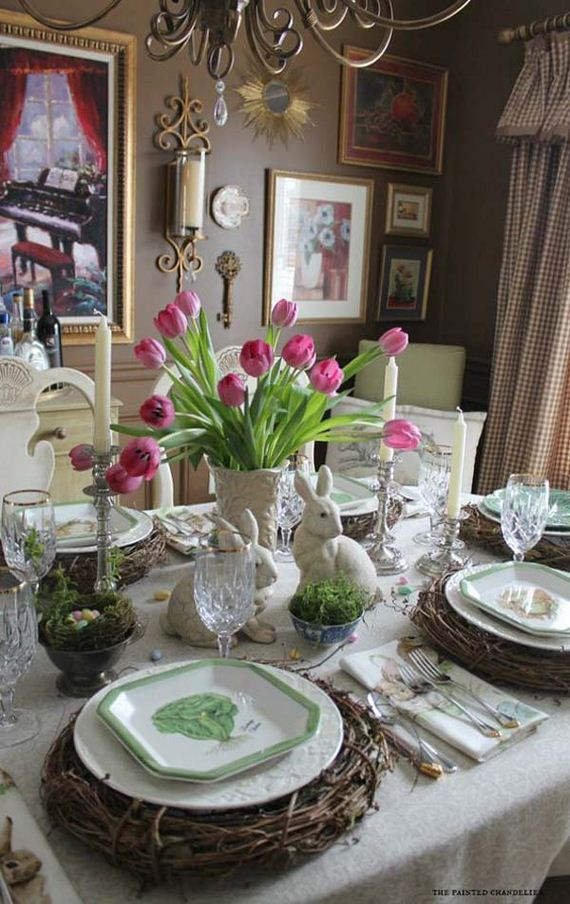 Diy Easter Tablescapes
