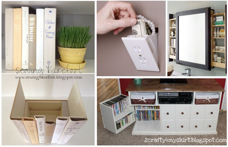 Amazing hidden storage ideas for Hidden storage ideas
