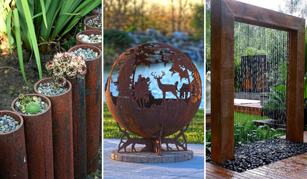 DIY Rusted Metal Projects