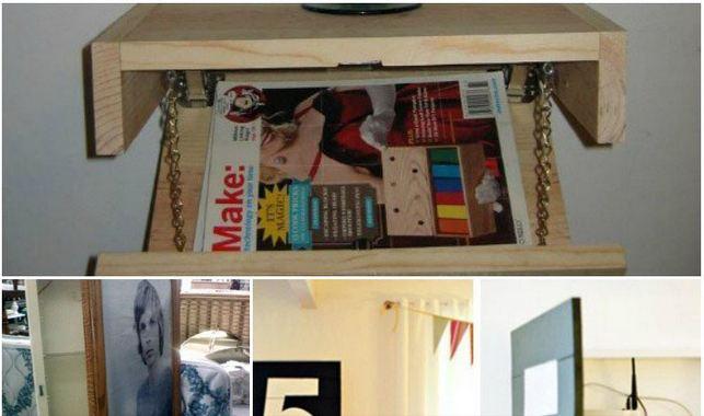 Top Secret Hiding Places in Your Home