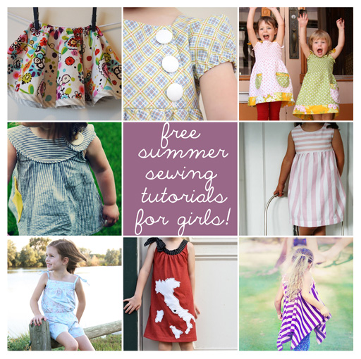 Summer Sewing Tutorials