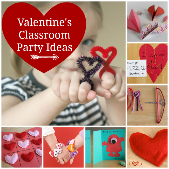 Classroom Party Ideas for Valentine's Day