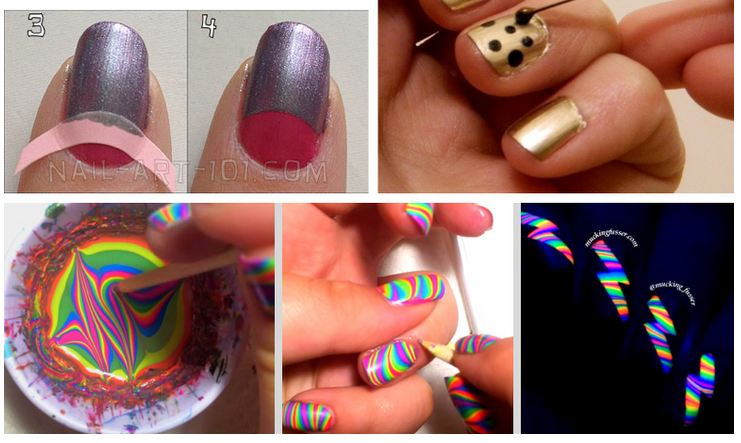 Creative Nail Art Hacks