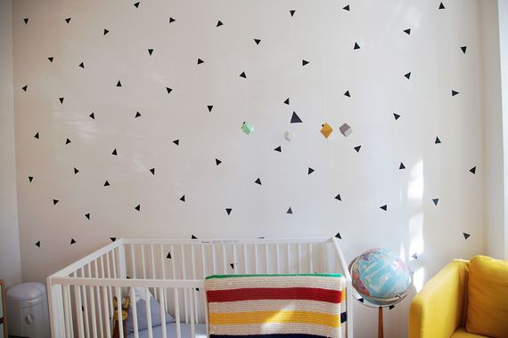 01-DIY-Black-Triangle-Wall-Decal