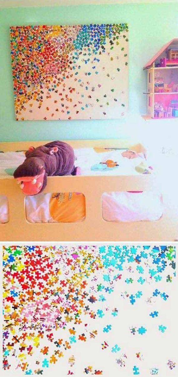 06 DIY Wall Art For Kids Room