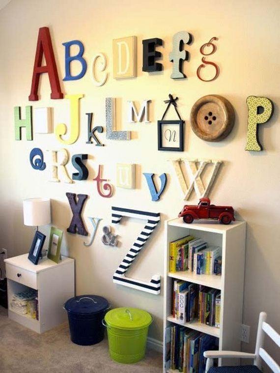 10-DIY-Wall-art-for-kids-room