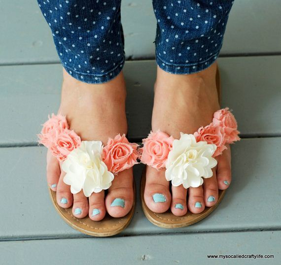 How To Refashion Your Flip Flops