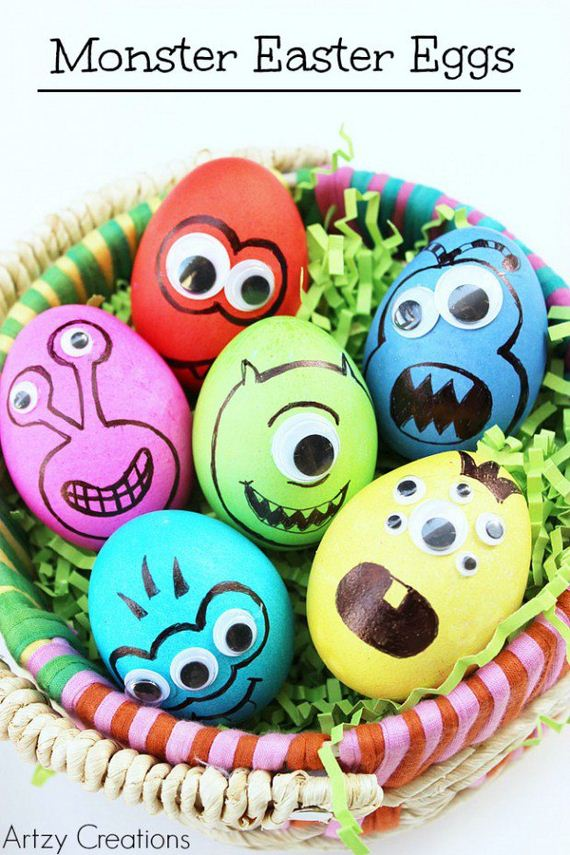 Awesome Diy Easter Egg Decorating Ideas For Kids