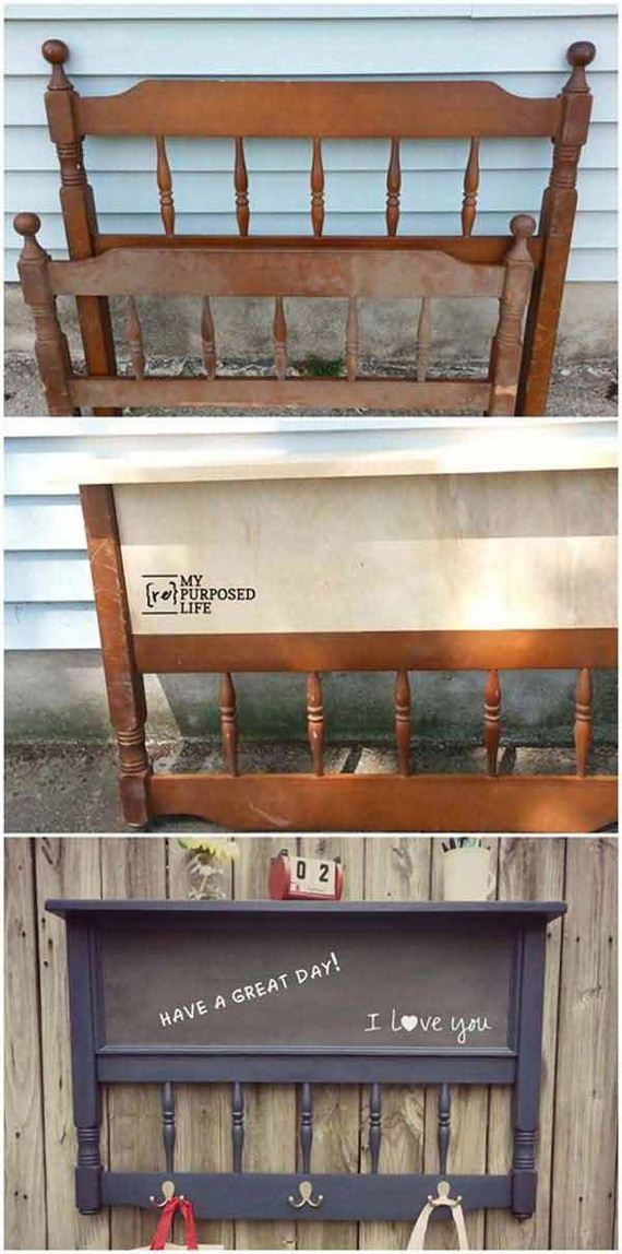 how to repurpose old furniture