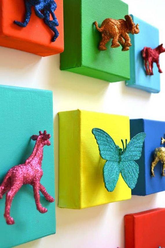 18-DIY-Wall-art-for-kids-room