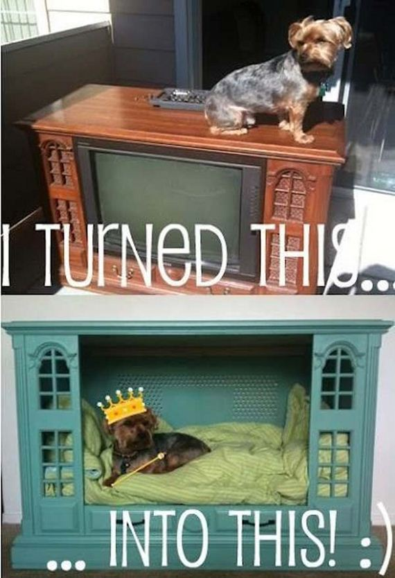 repurpose old furniture. 21-old-furniture-repurposed-woohome Repurpose Old Furniture