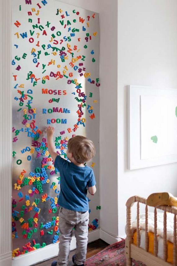 22-DIY-Wall-art-for-kids-room