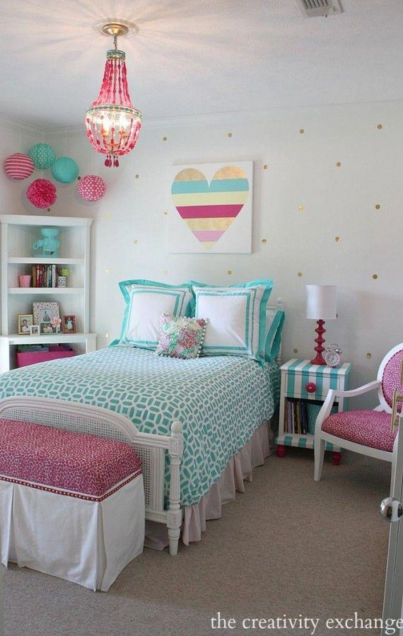 26-girl-bedroom-makeover-ideas