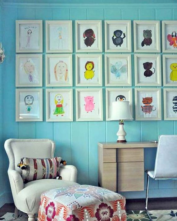 28-DIY-Wall-art-for-kids-room