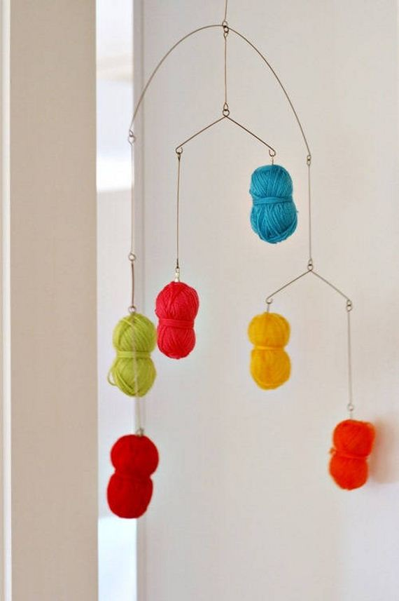 Amazing DIY Baby Mobile Projects