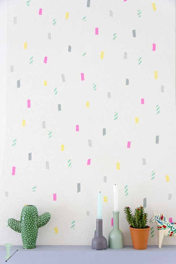 49-DIY-Black-Triangle-Wall-Decal