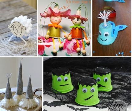 DIY K-Cups Creatures