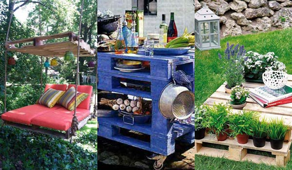 Awesome DIY Outdoor Pallet Furniture Designs