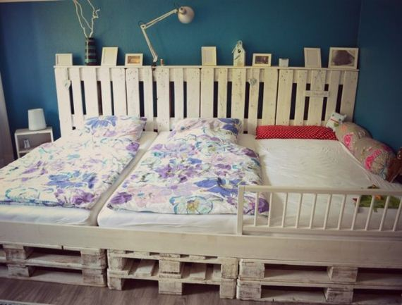 Amazing Diy Pallet Bed Projects