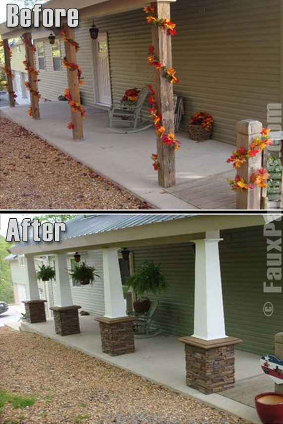 02-Faux-Stone-Makeover-woohome