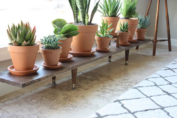 Cool DIY Plant Stands