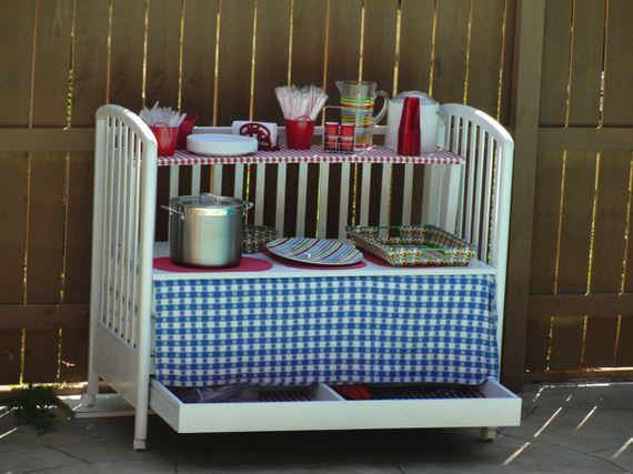 Great Ways to Repurpose Cribs