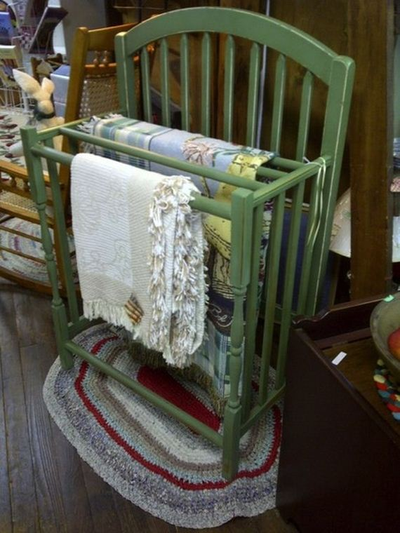 Great ways to repurpose cribs - How to reuse old clothes well tailored ideas ...
