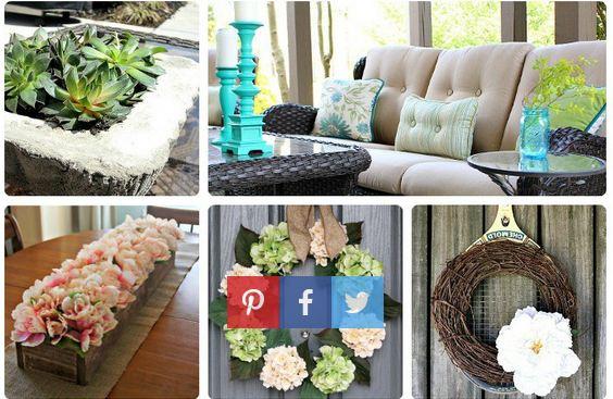 Amazing Spring-Home Decor Ideas