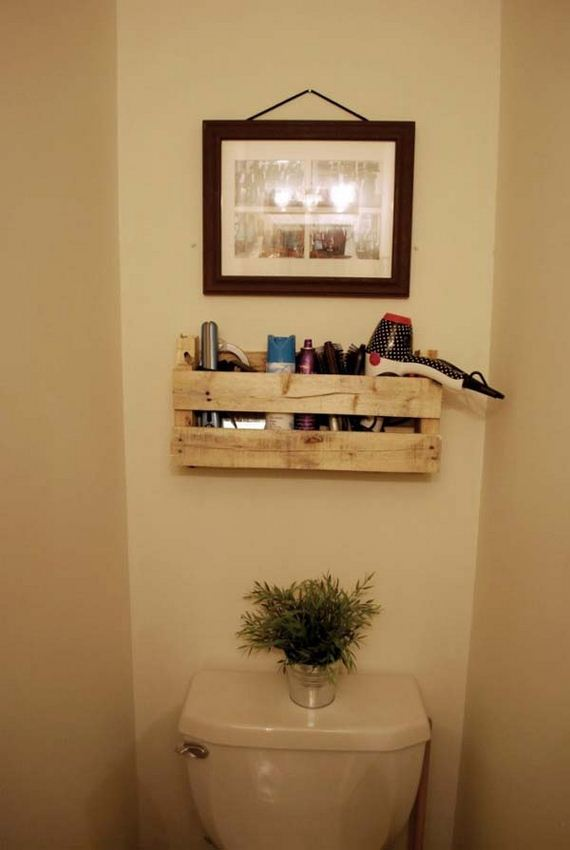 07 Bathroom Pallet Projects Woohome