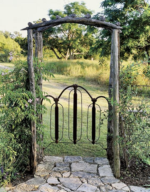 11 Beautiful Garden Gates Yard Home Inspiration