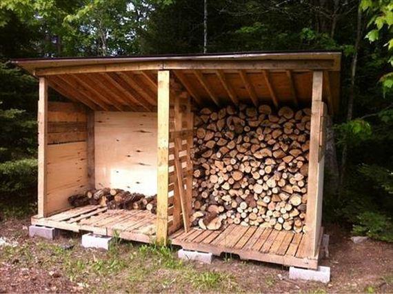 12 Easy DIY Outdoor Firewood Racks