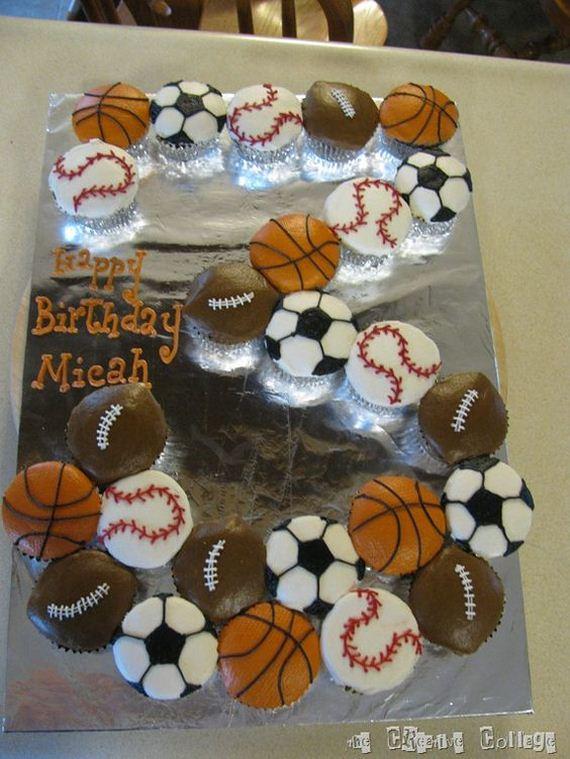 Awesome Birthday Cupcake Cakes