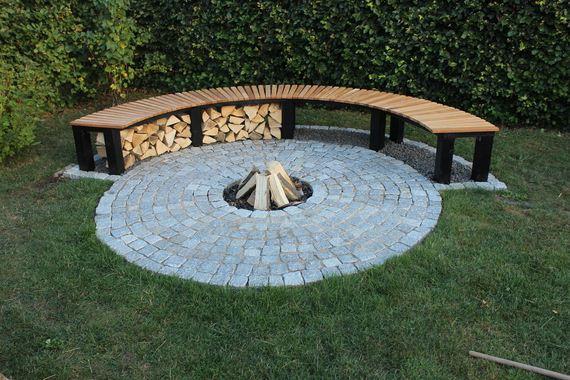 13 Easy DIY Outdoor Firewood Racks