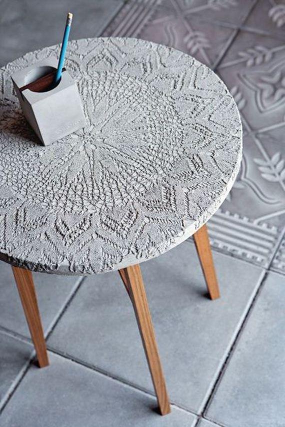 17 DIY Concrete Coffee Table