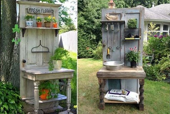 Awesome Ideas To Repurpose Old Doors