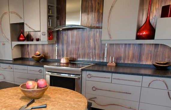 interesting kitchen backsplash tile design idea | The Best Kitchen Backsplash Ideas